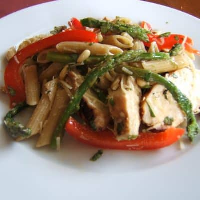 Grilled Chicken with Pesto-Inspired Pasta Salad