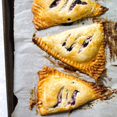 Freezer-Friendly Blueberry Hand Pies