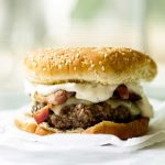Bacon Cheeseburger with Green Chile Mayo