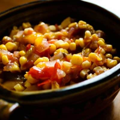 Spicy Sweet Corn Relish