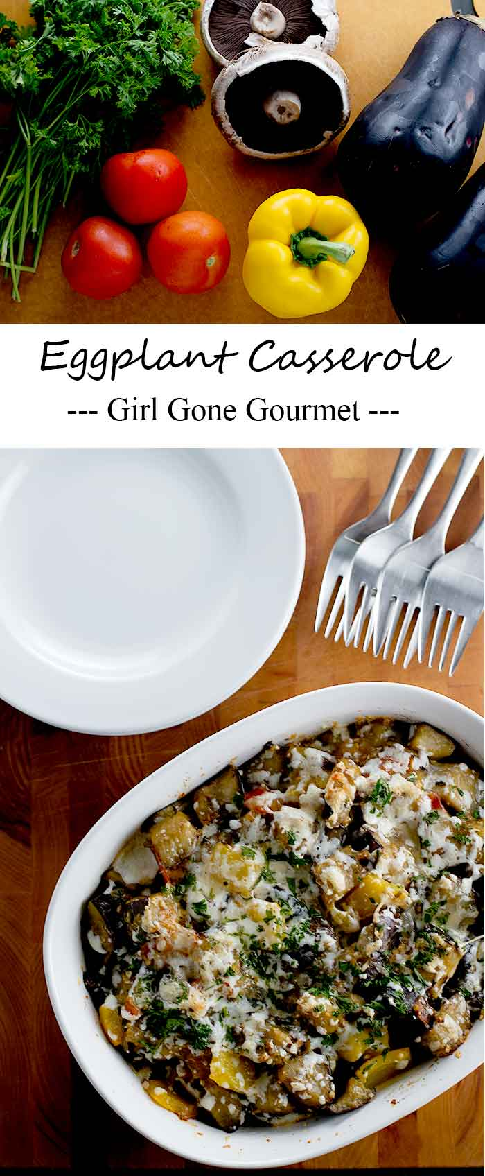The best of summer all baked up together in a delicious casserole   girlgonegourmet.com