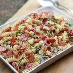 BLT Pasta Salad | girlgonegourmet.com