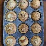 Pumpkin Muffins with Cream Cheese Swirl | Girl Gone Gourmet