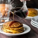 Sweet Potato Pancakes| girlgonegourmet.com