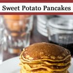 Sweet Potato Pancakes | girlgonegourmet.com