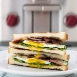 Fried Egg Sandwich | #ad @subzeroandwolf, toast