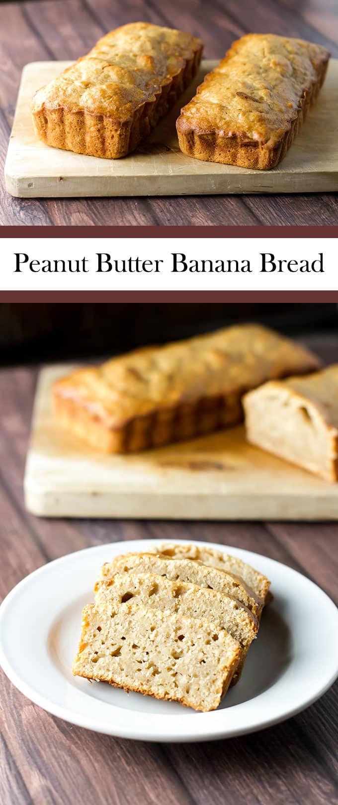 Peanut Butter Banana Bread | girlgonegourmet.com