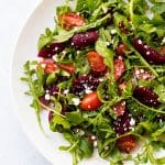 Tomato and Pickled Beet Salad