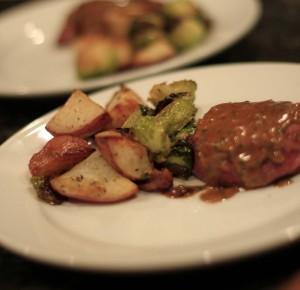Bacon wrapped filet | girlgonegourmet.com