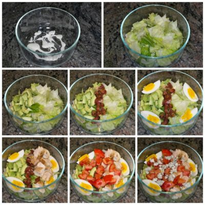 Make Ahead Cobb Salad