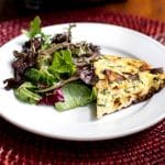Chorizo and Potato Frittata | girlgonegourmet.com