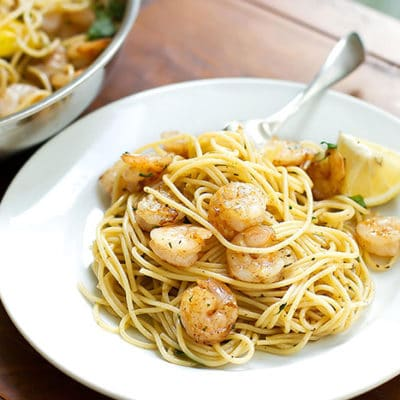 Garlic Butter Shrimp Pasta – Quick & Easy!