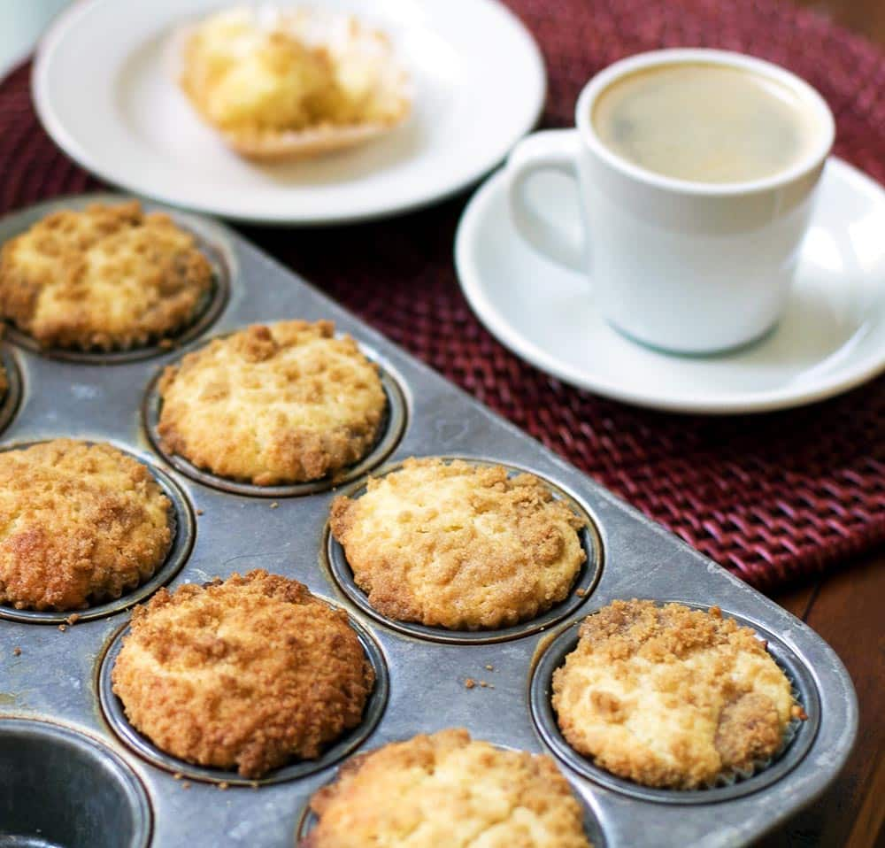Lemon Streusel Muffins  girlgonegourmet.com