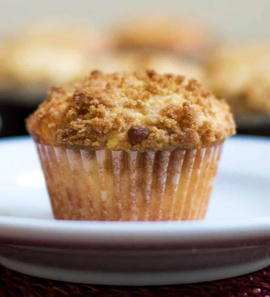 Lemon Streusel Muffins | girlgonegourmet.com