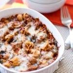 Baked Tortellini |Girl Gone Gourmet