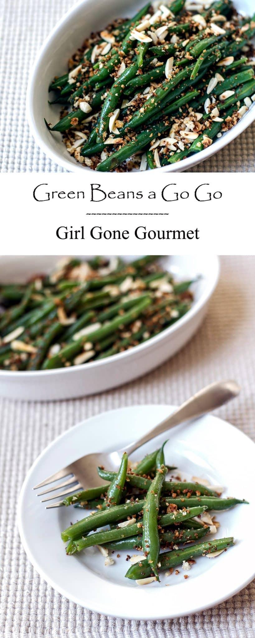 Green Beans a Go Go | Girl Gone Gourmet