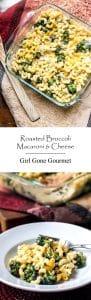 Roasted Broccoli Mac & Cheese | Girl Gone Gourmet