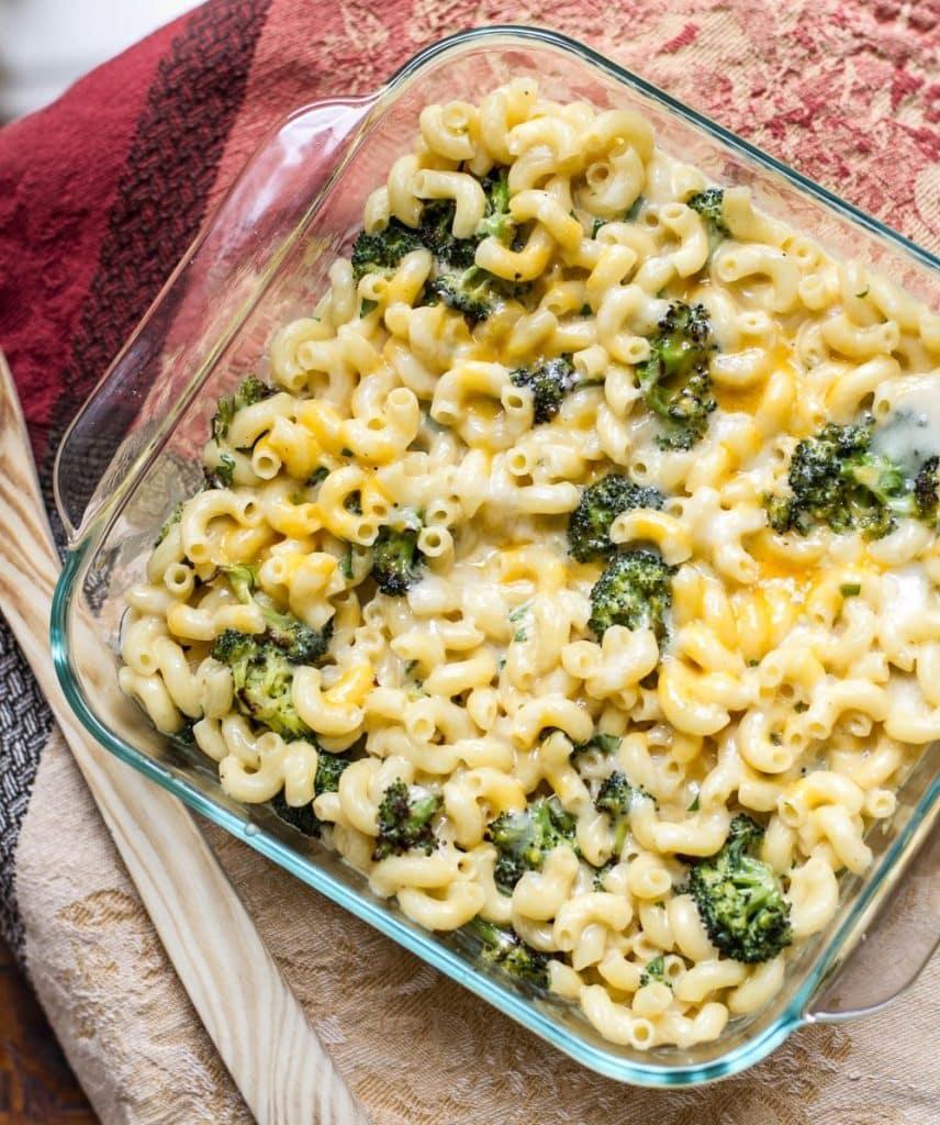 Roasted Broccoli Macaroni & Cheese | Girl Gone Gourmet