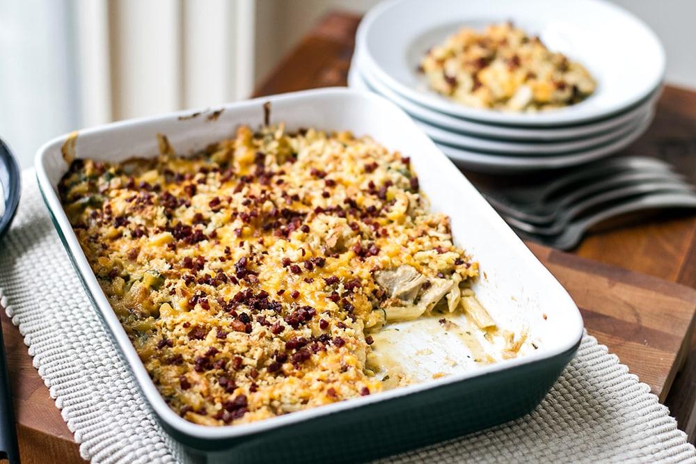 Cheesy Turkey Casserole | Girl Gone Gourmet