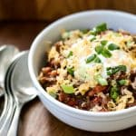 Easy Chili | Girl Gone Gourmet
