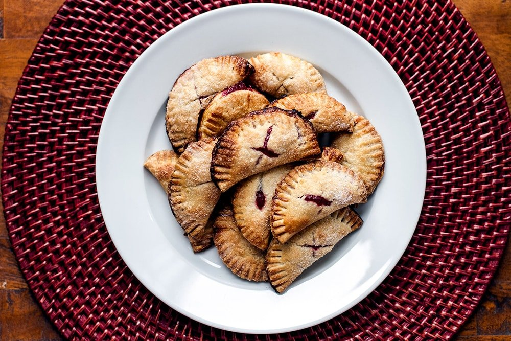 Cranberry Pie Bites