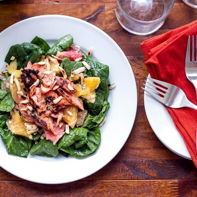 Grilled Salmon Citrus Salad