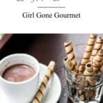 All you need is four ingredients and a few minutes to make this rich and creamy hot chocolate! www.girlgonegourmet.com