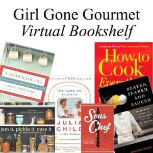 Virtual Bookshelf | Girl Gone Gourmet