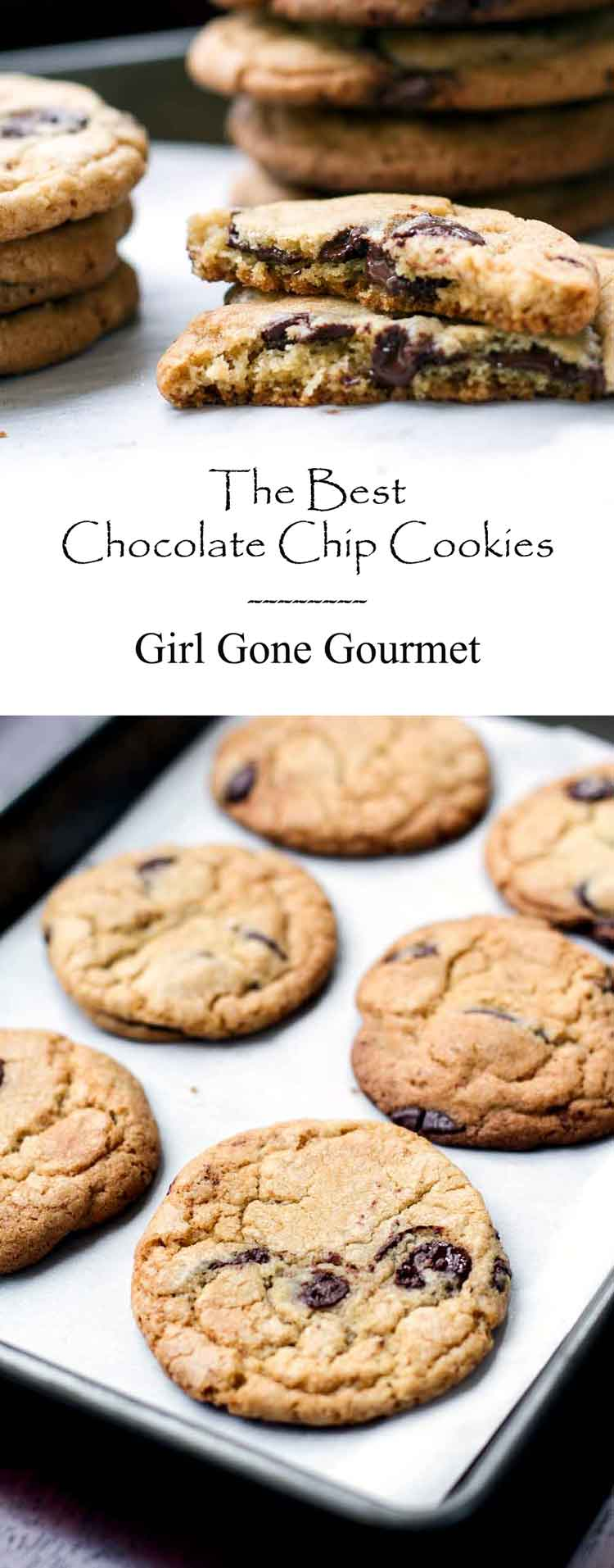 The Best Chocolate Chip Cookies I've Ever Made | Girl Gone Gourmet
