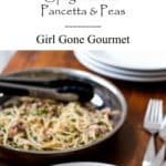 All you need is 20 minutes to make this simple and satisfying pasta dish   girlgonegourmet.com