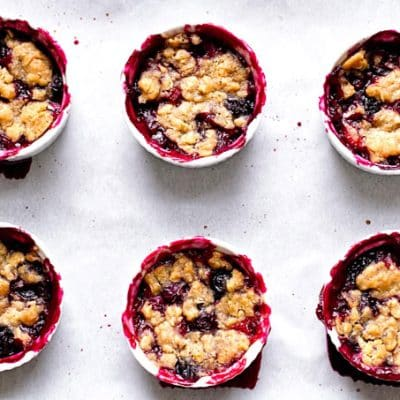Berry Crumbles