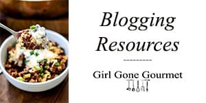 Blogging Resources | girlgonegourmet.com