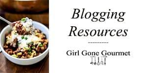 Blogging Resources | girlgonegourmet.com