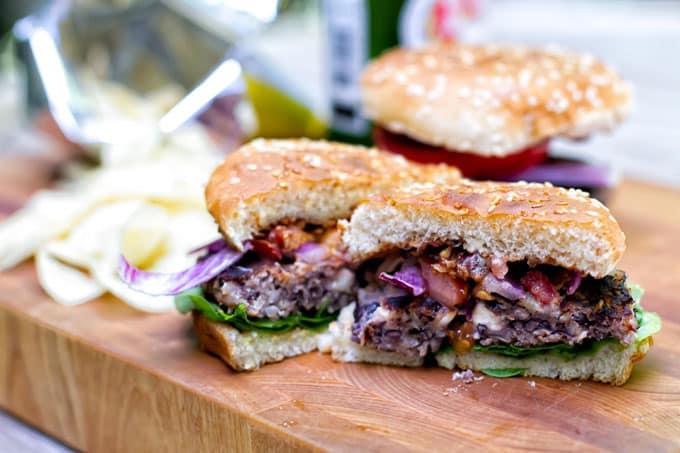 Black Bean Burgers | girlgonegourmet.com