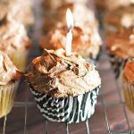 Coffee Cupcakes with Chocolate Buttercream Frosting | girlgonegourmet.com