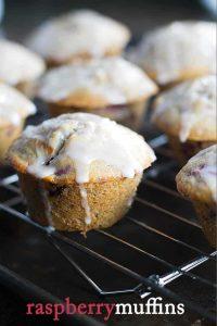 Raspberry Muffins | baking recipes