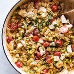 photo of chicken pasta
