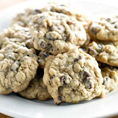 Oatmeal Raisin Cookies with Chocolate Chips