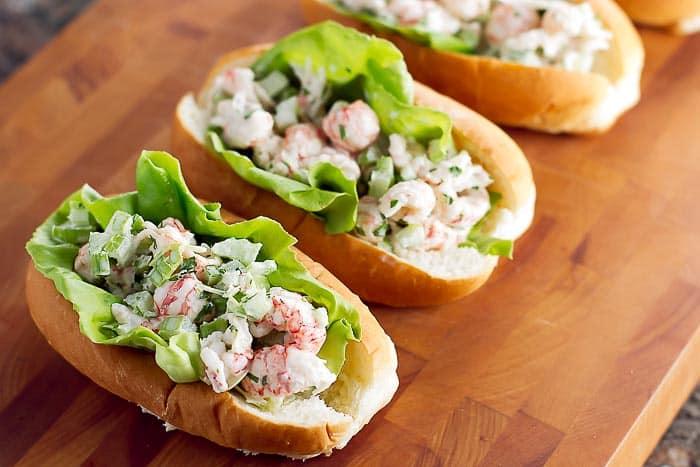 Lobster Salad Sandwiches | girlgonegourmet.com
