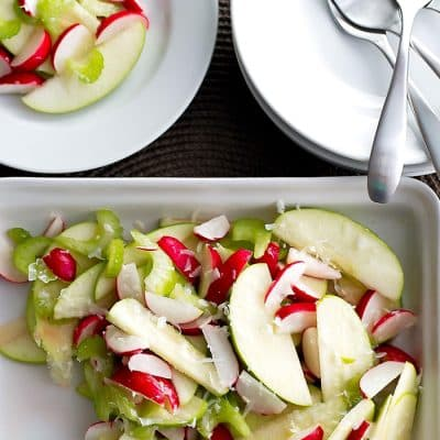 Radish and Green Apple Salad