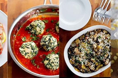 Salmon, Cupcakes, Eggplant & Meatballs: It's the August Archive Round-Up!
