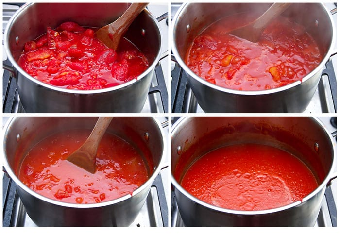 how to make pomodoro sauce step by step process