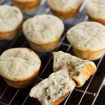 Savory Ricotta Muffins