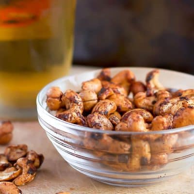Sweet and Smokey Cashews