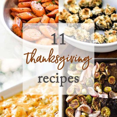 11 Favorite Thanksgiving Recipes