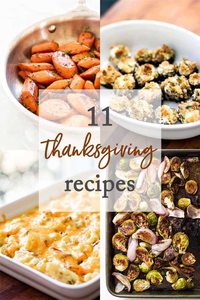 11 Favorite Thanksgiving Recipes