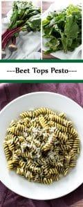 beet greens pesto
