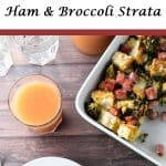 A strata is a make-ahead breakfast casserole that's perfect for special occasions! | girlgonegourmet.com