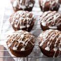 Maple Gingerbread Muffins | girlgonegourmet.com