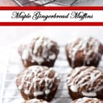 Maple Gingerbread Muffins | girlgonegourmet.com